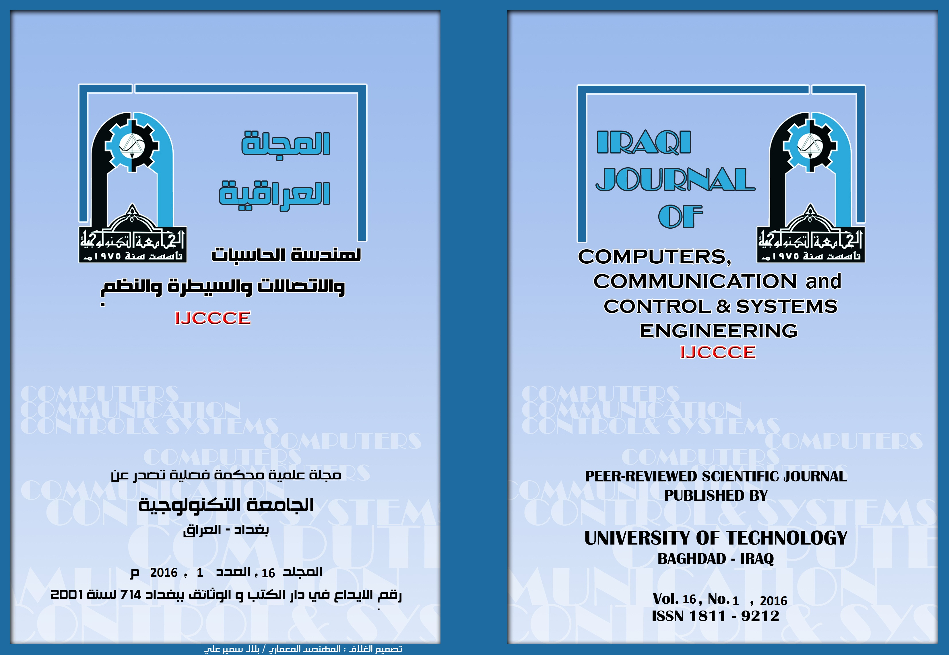 IRAQI JOURNAL OF COMPUTERS,COMMUNICATION AND CONTROL & SYSTEMS ENGINEERING
